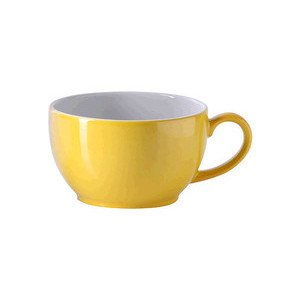 Cappuccinoobertasse 0,3 l Solid Color sonnengelb Dibbern