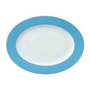 Platte 33 cm oval Sunny Day Waterblue waterblue Thomas