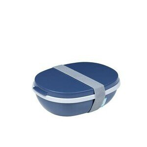 Lunchbox 1,4 l Duo Ellipse nordic denim Mepal