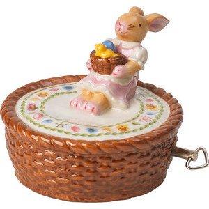 Spieluhr Körbchen 10x10x10cm Bunny Family Villeroy & Boch