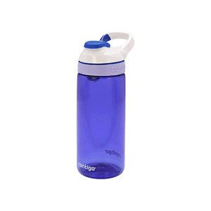 Wasserflasche 590ml Courtney cerulean/white Contigo