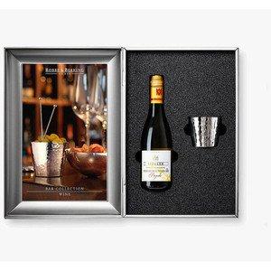 Geschenkset Wein 3-tlg Martele 90 g versilbert Robbe & Berking