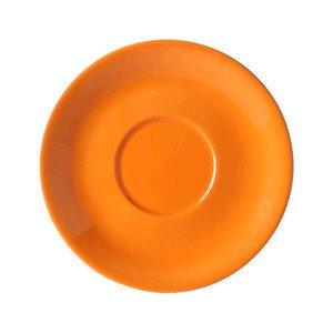 Jumbountertasse Solid Color Orange rund Dibbern