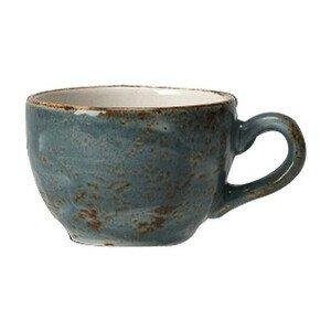 Espressoobertasse nieder 85 ml Empire Craft blau Steelite