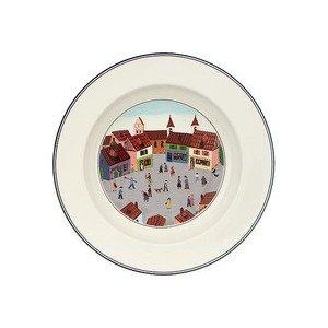 Suppenteller 21 cm Dorf Design Naif Villeroy & Boch