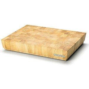 Hackblock 48 x 36 x 7,5 cm Stirnholz Continenta