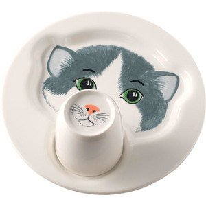 Teller mit Becher Katze Animal Friends Villeroy & Boch