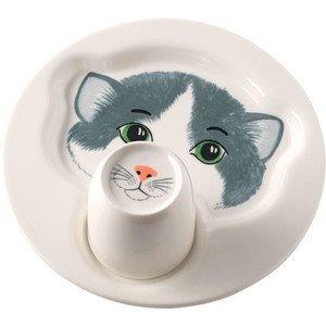 Teller mit Becher Katze Animal Friends Villeroy & Boch