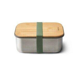Sandwich Box 1,25l Edelstahl Olive Black+Blum