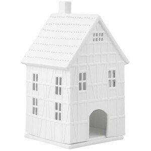 Fachwerkhaus groß 9,5x10x19cm Räder