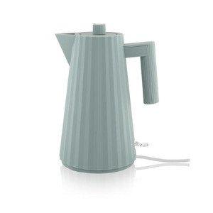 Wasserkocher elektrisch Plisse grau Alessi