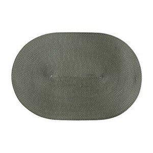 Tischset oval 45x31 cm schilfgrün Continenta