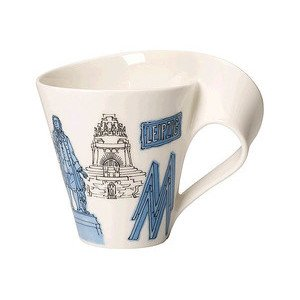 Becher m. Henkel 0,3 l Leipzig Cities of the World Mug Villeroy & Boch