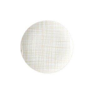 Teller flach 19 cm Mesh Line Cream Rosenthal
