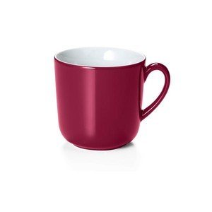 Becher m.H. 0,45ltr. Solid Color bordeaux Dibbern