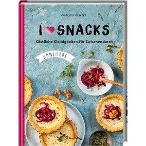 Buch: I love Snacks Köstliche Kleinigkeiten Coppenrath
