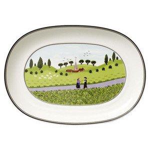 "Beilagenschale 20 cm oval ""Design Naif"" Villeroy & Boch"