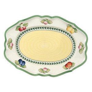 "Platte 37 cm oval ""French Garden Fleurence"" Villeroy & Boch"