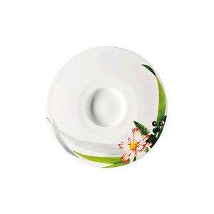 "Tee-/ Cappucinountertasse 16 cm ""Brillance Les Fruits du Jardin"" Rosenthal"