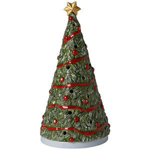 Christbaum gross North Pole Express Villeroy & Boch