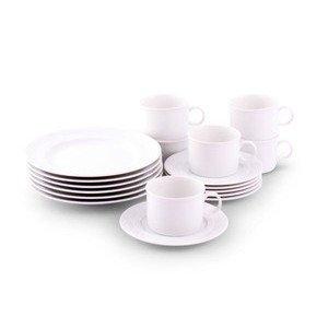 Kaffee Set 18 tlg. Form 59 Jeverland weiss 5909