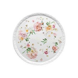 "Tortenplatte 31,5 cm Blumen ""Maria Pink Rose"" Rosenthal"