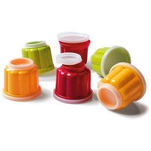 Puddingförmchen Patisserie farbig sortiert Packung 6 Stück Kaiser