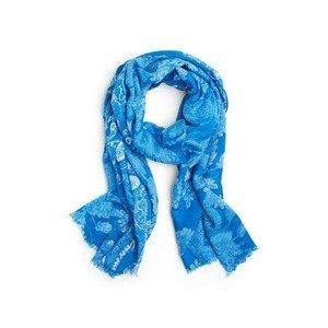Schal 90x180cm blau Lizas