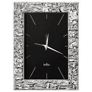 Tischuhr 10x15cm Silver Collection Scratch Rosenthal