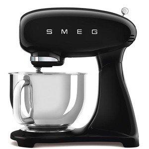 Küchenmaschine 800 Wattt m. Edelstahlschüssel schwarz smeg