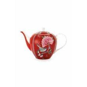 Teekanne 1,6ltr. Blushing Birds red PiP Studio