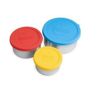 Lunchbox mini 3er Set Durchmesser 12 , 10 , 8,5cm Brotzeit