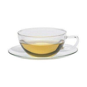 Teetasse mit Untertasse 0,2l Opus Trendglas