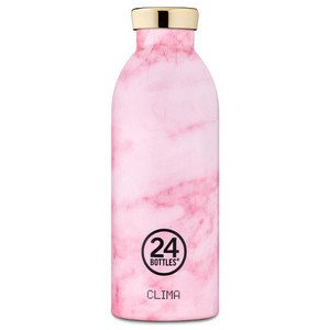 Thermo-Trinkflasche 0,5l Clima 24Bottles Pink Marble 24bottles