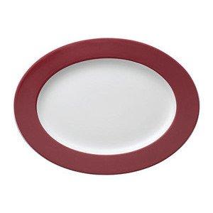"Platte 33 cm oval ""Sunny Day Fuchsia"" fuchsia Thomas"