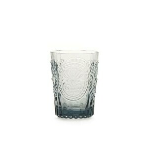 Wasserglas S Fleur de Lys grau Van Verre