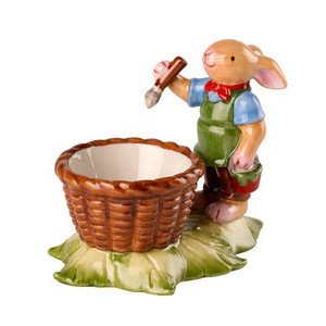 Eierbecher Hasenjunge 10x6x8cm Bunny Family Villeroy & Boch