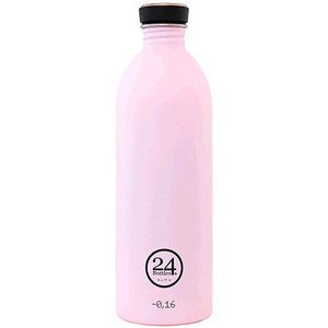 Trinkflasche 1,0l pastell-rosa 24bottles
