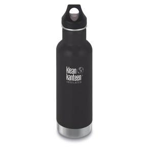 Trinkflasche isoliert Classic schwarz matt 592ml klean kanteen
