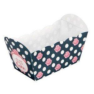 Papier-Backform 10 Stück All you need is Cake 7 x 4 x 4 cm Städter