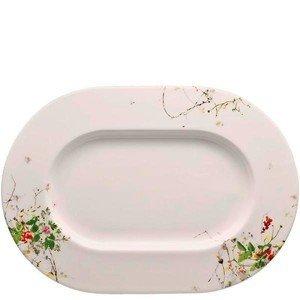 "Platte 34 cm x 24 cm Blumen ""Brillance Fleurs Sauvages"" Rosenthal"
