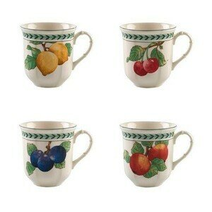 Jumbo Becher Set 4 teilig French Garden Modern Fruits Villeroy & Boch