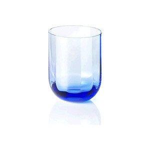 Glas 0,25 ltr. Azurblau Rotondo Optic Dibbern