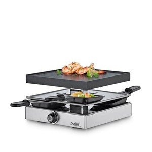 Raclette Classic 4 silber Spring