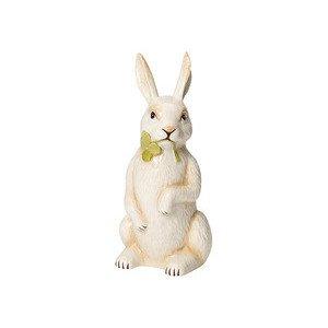 Kaninchen stehend m. Klee gros Easter Decoration Villeroy & Boch