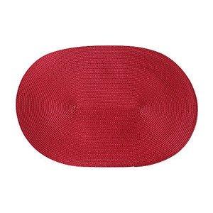 Tischset rot oval 45x31 cm Continenta