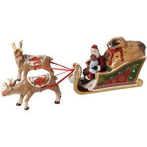 Schlitten 44x11x18cm Santas Geschenke Christmas Toys Villeroy & Boch
