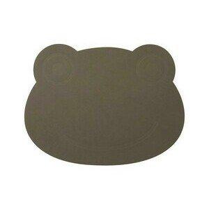 Tischset Frosch 38x30 cm Nupo army green LINDDNA