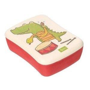Bambusbrotdose Krokodil Green Sigikid