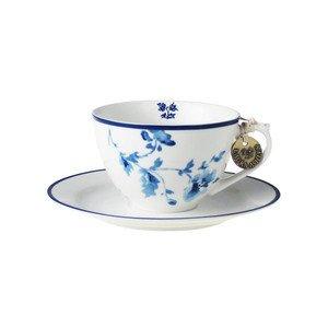 Cappuccino Tasse m. U. China Rose Laura Ashley